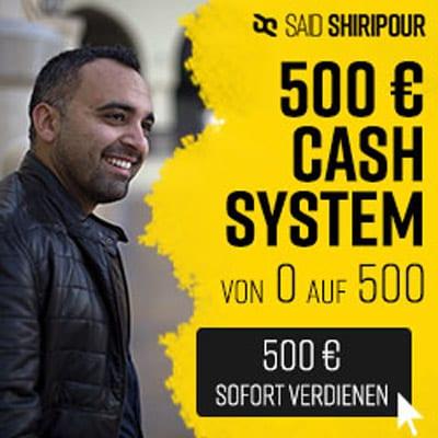 500 € Chashsystem